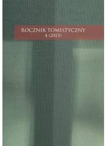 Rocznik Tomistyczny 4 (2015)